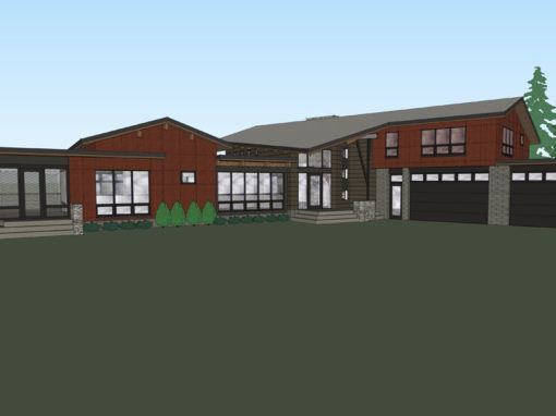 Manitou Industrial Modern House